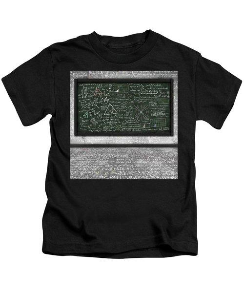 Maths Formula On Chalkboard Kids T-Shirt