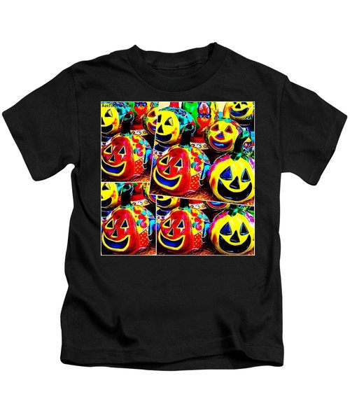 May Your #halloween Be Extra #colorful Kids T-Shirt