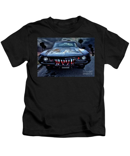 Mean Streets Of Belmont Heights Kids T-Shirt