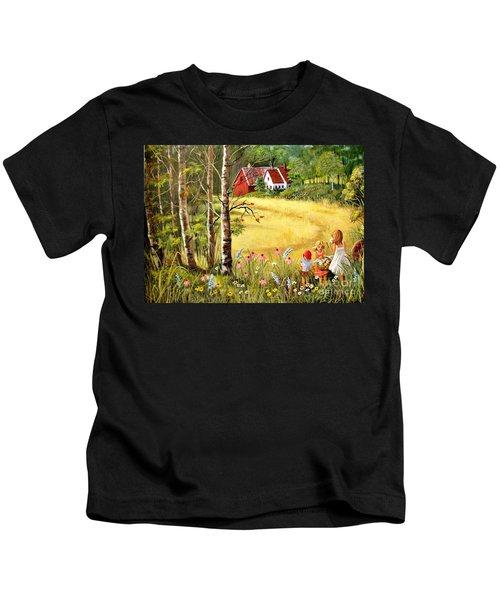 Memories For Mom Kids T-Shirt