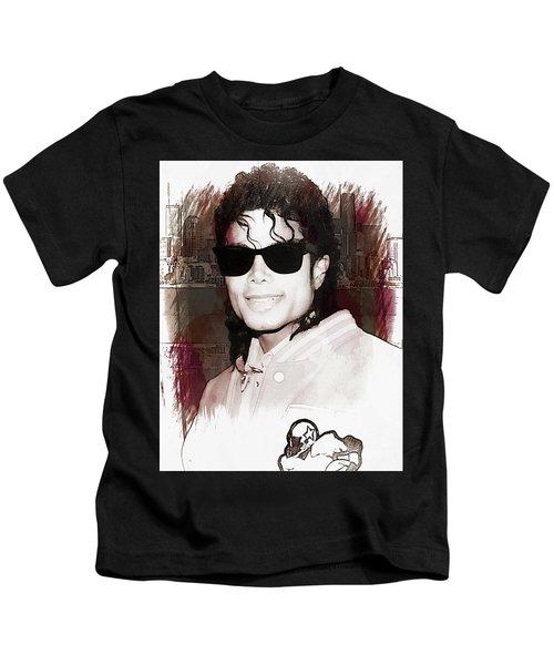 Michael Jackson Kids T-Shirt