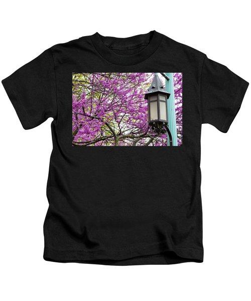 Michigan State University Spring 7 Kids T-Shirt by John McGraw