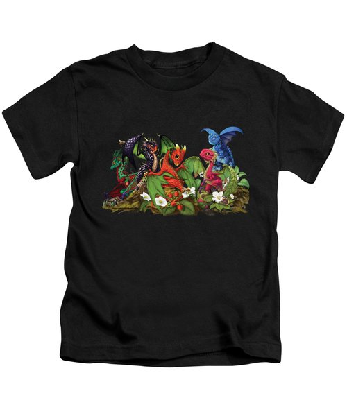 Mixed Berries Dragons T-shirt Kids T-Shirt