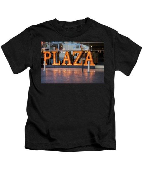 Neon Plaza Kids T-Shirt