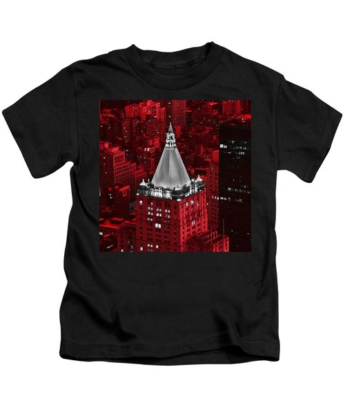 New York Life Building Kids T-Shirt