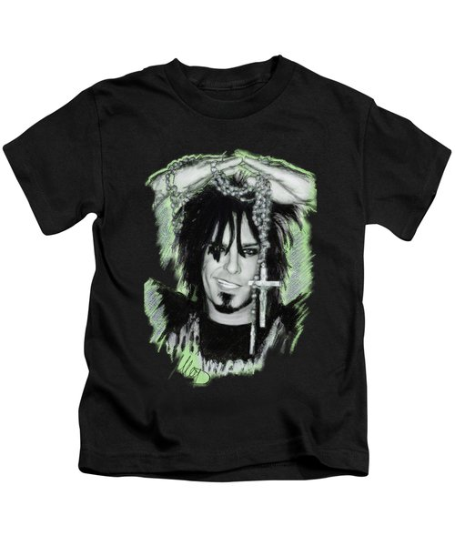 Nikki Sixx 2 Kids T-Shirt