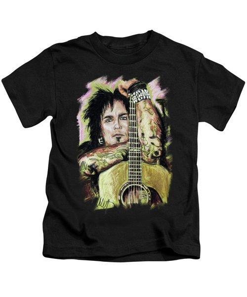 Nikki Sixx 3 Kids T-Shirt