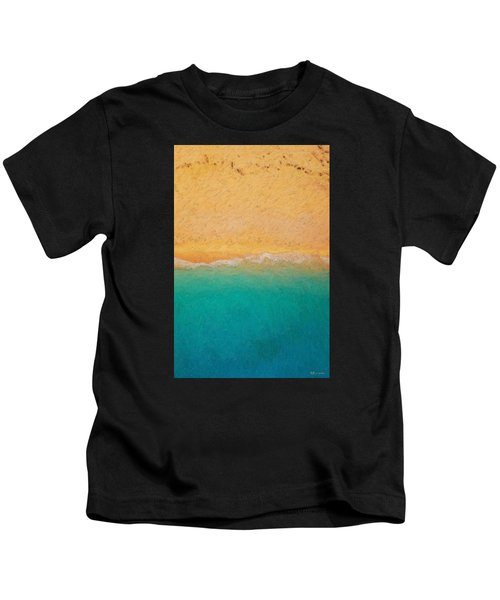 Not Quite Rothko - Surf And Sand Kids T-Shirt