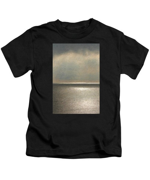 Not Quite Rothko - Twilight Silver Kids T-Shirt