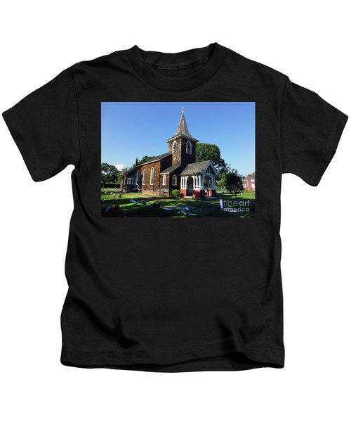 Old Grace Church Massapequa  Kids T-Shirt