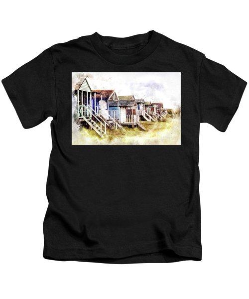 Old Hunstanton Beach Huts Kids T-Shirt