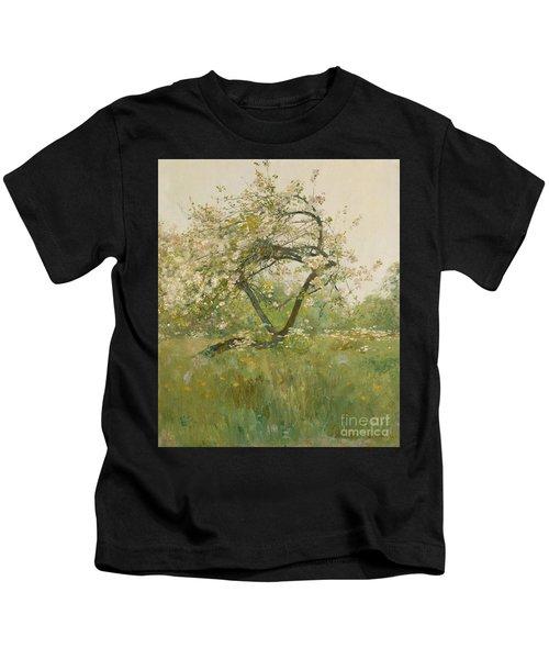 Peach Blossoms Kids T-Shirt