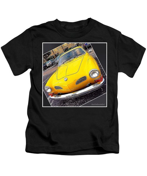 Photoshopping The #yellow #karminnghia Kids T-Shirt