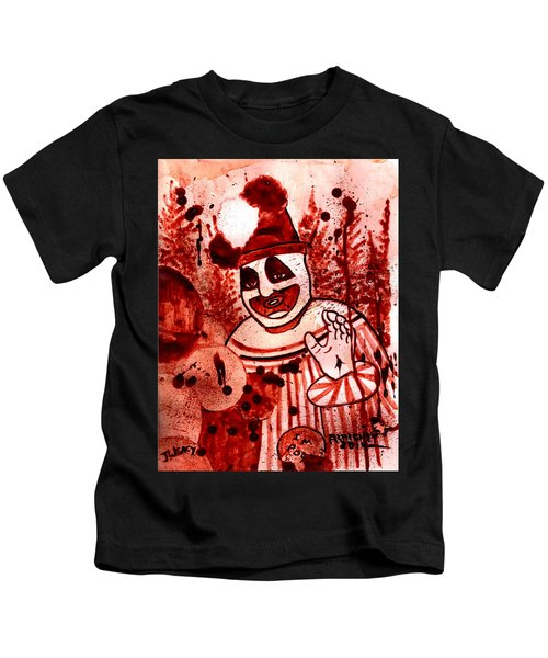 Pogo Painted In Human Blood Kids T-Shirt