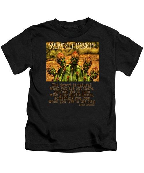 Prickly Pear Cactus Kids T-Shirt