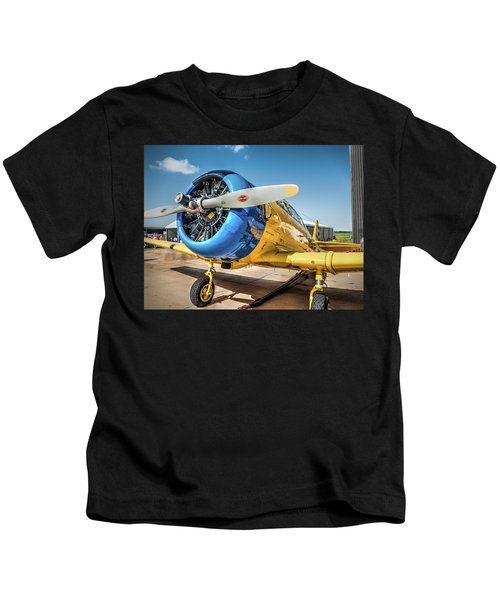 R C A F North American T-6 Texan  V4 Kids T-Shirt