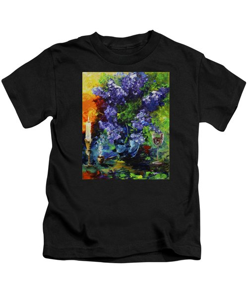 Lilacs Kids T-Shirt