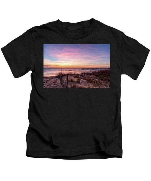 Rodanthe Sunrise Kids T-Shirt
