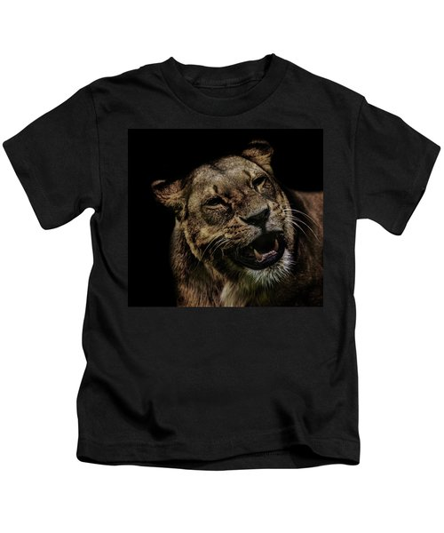 Orangutan Smile Kids T-Shirt by Martin Newman
