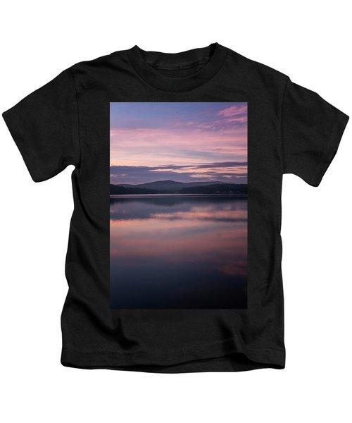 Spofford Lake Sunrise Kids T-Shirt