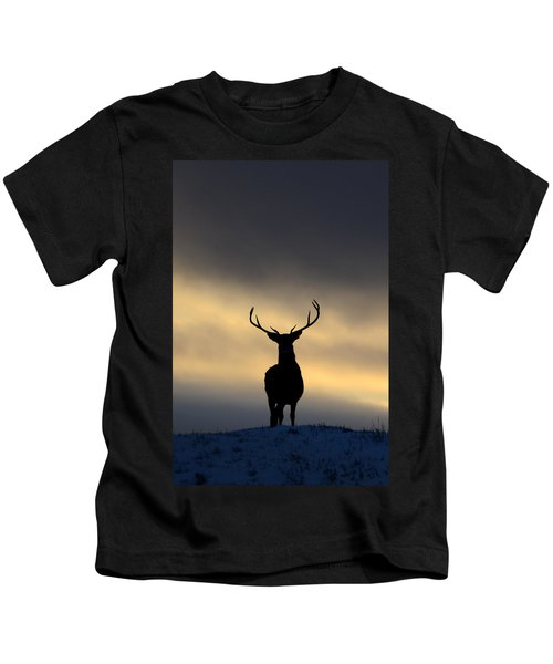 Stag Silhouette  Kids T-Shirt