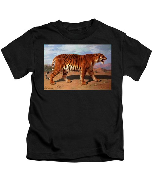Stalking Tiger Kids T-Shirt