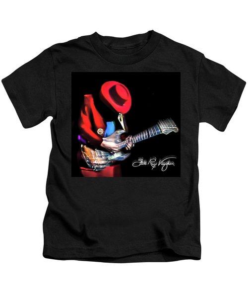 Stevie Ray Vaughan - Texas Flood Kids T-Shirt