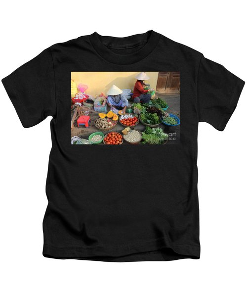 Street Merchants Hoi An Kids T-Shirt