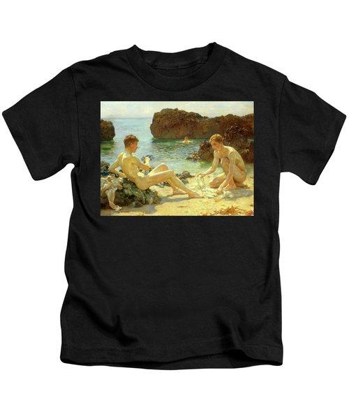 Sun Bathers Kids T-Shirt
