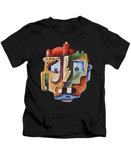 Surrealism Head Kids T-Shirt