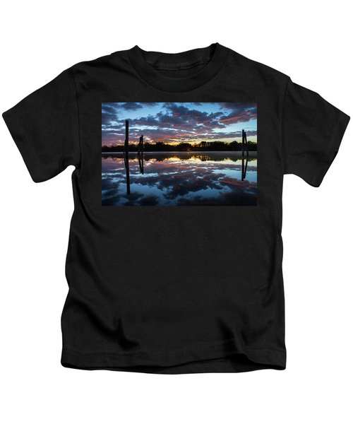 Symetry On The River Kids T-Shirt