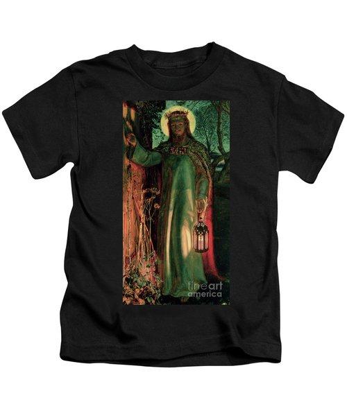 The Light Of The World Kids T-Shirt
