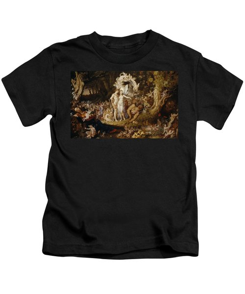 The Reconciliation Of Oberon And Titania Kids T-Shirt