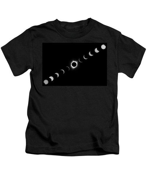 Total Eclipse 2017 Kids T-Shirt