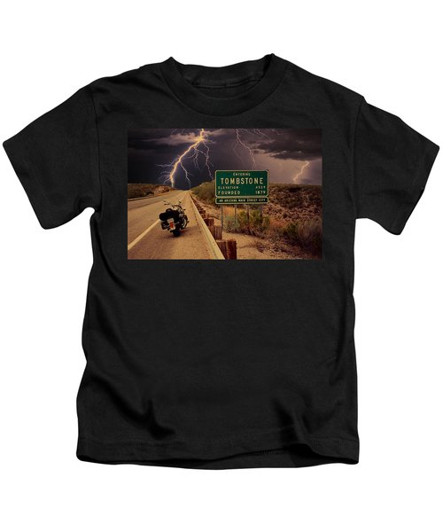 Trouble In Tombstone Kids T-Shirt