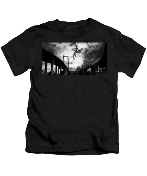Two Bridges One Moon Kids T-Shirt