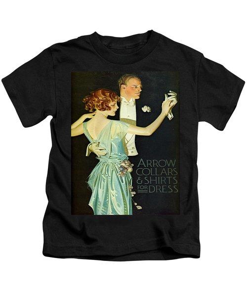 Vintage Poster - Arrow Collar Kids T-Shirt
