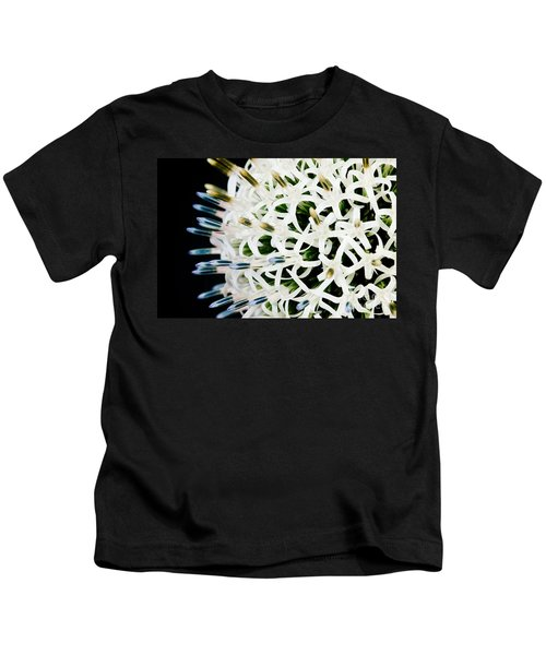 White Alium Onion Flower Kids T-Shirt