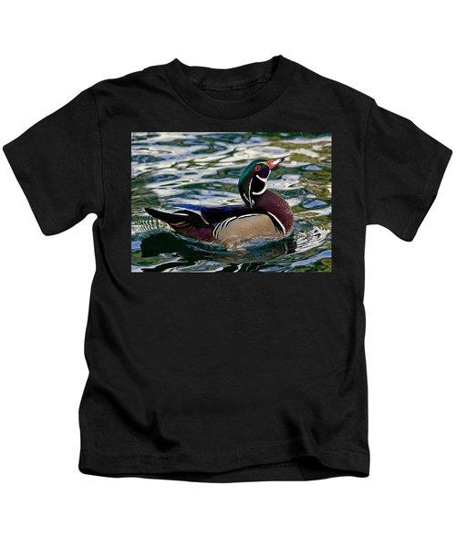 Wood Duck Kids T-Shirt