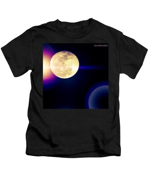 Wouldn't It Be Great If The #moon And Kids T-Shirt