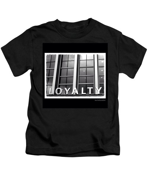 Yes, #loyalty. That Is Why I Own A Dog Kids T-Shirt