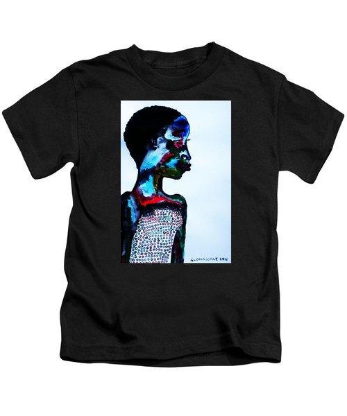Dinka Lady - South Sudan Kids T-Shirt