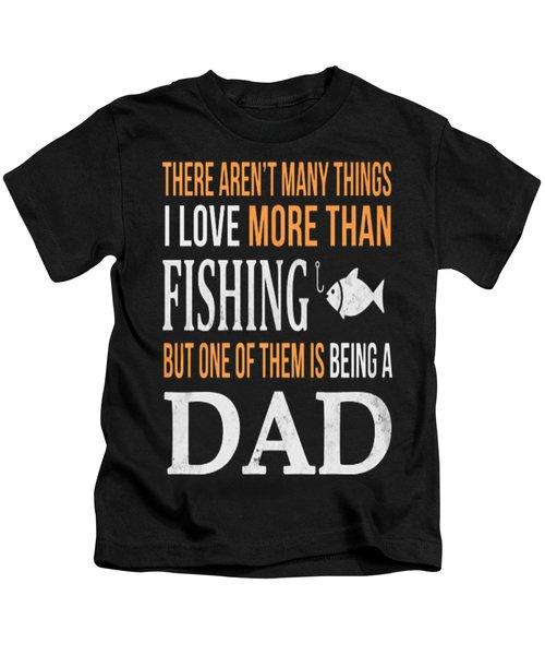 Fishing Kids T-Shirt by Thucidol
