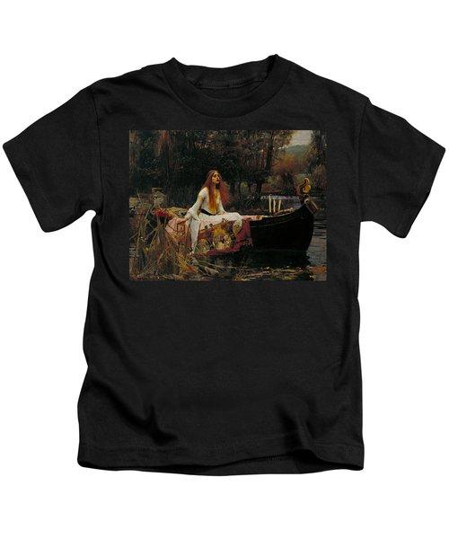 The Lady Of Shalott Kids T-Shirt