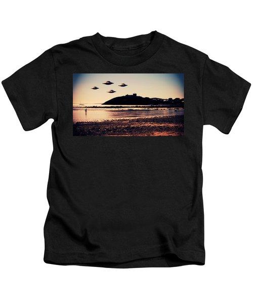 Ufo Sighting Kids T-Shirt