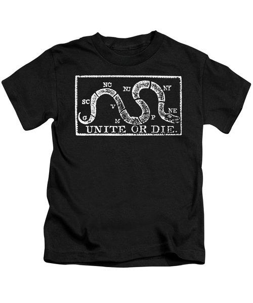 1774 Unite Or Die Kids T-Shirt
