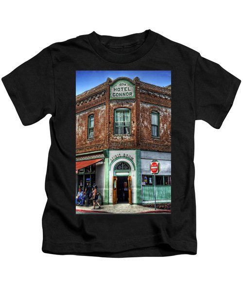 1898 Hotel Connor - Jerome Arizona Kids T-Shirt