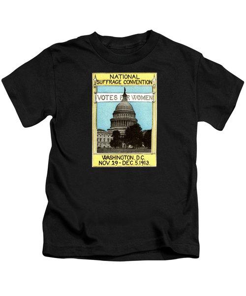 1913 Votes For Women Kids T-Shirt