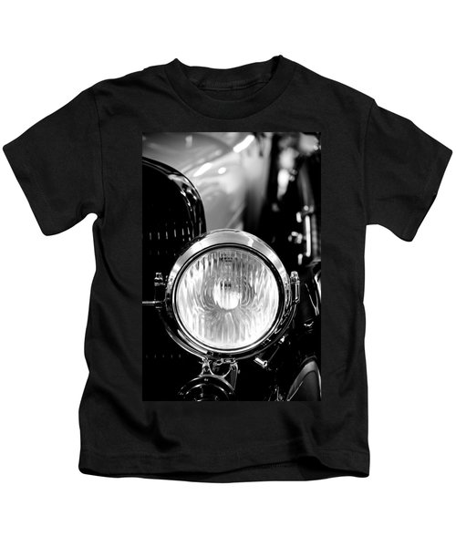 1925 Lincoln Town Car Headlight Kids T-Shirt