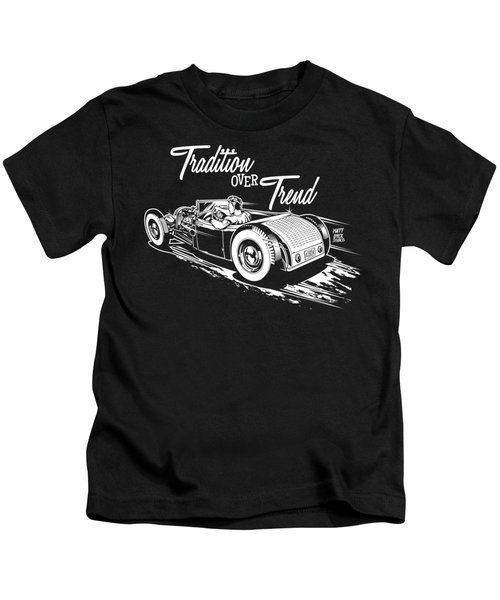 1929 Roadster Design Kids T-Shirt